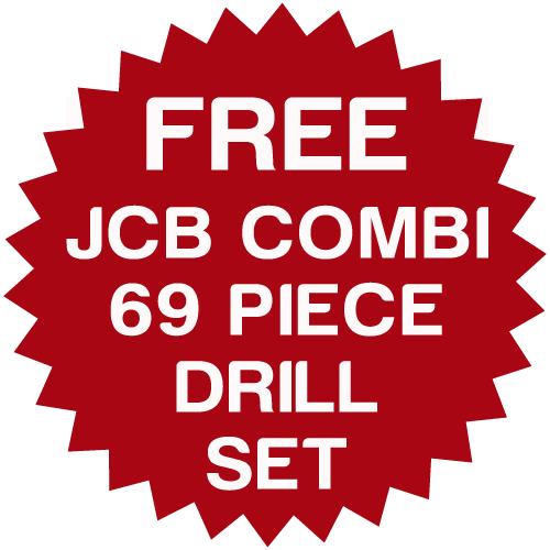 JCB 18BLCD-5X 18V Brushless Combi Drill