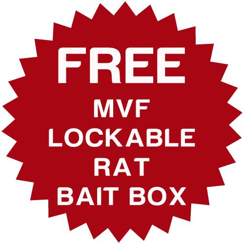 MVF Difenacoum Block Rat Bait - 8kg