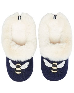 Joules Ladies Slippet Luxe Slip On Character Slippers