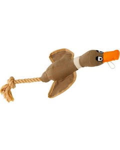 House of Paws Duck Canvas Dog Toy