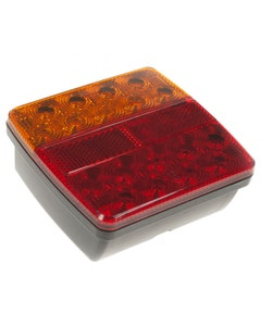 MVF LED Rear Combination Light With 300mm Cable