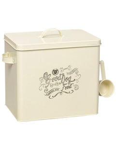 House of Paws Good Small Dog Food Tin Cream With Scoop Large