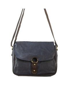 Bolla Bags Ladies Pecan Leather Shoulder Bag