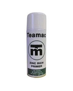 Teamac Zinc Rich Primer Aerosol Spray - 400ml
