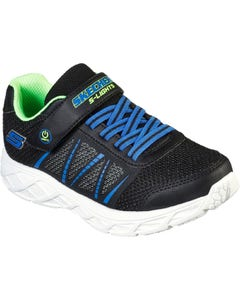 Skecher Children's Dynamic-Flash Trainers - Black/Blue/Lime