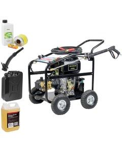 SIP 10HP Diesel Engine Driven Pressure Washer