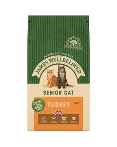 James Wellbeloved Senior Cat Turkey - 1.5kg