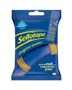 Sellotape Original Golden - 24mm x 50m