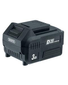 Draper D20 20V Lithium Battery - 3.0Ah