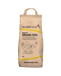 Marriages Organic Mixed Corn - 5kg