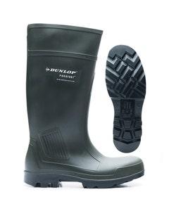 Dunlop Purofort Professional Wellington Boots - Green