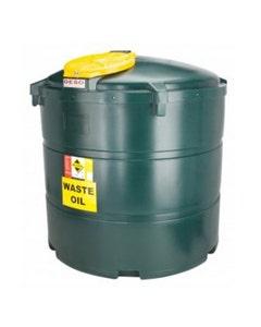 Deso Bunded Vertical Waste Oil Tank 1340L - V1340WOW