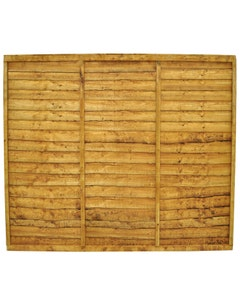 Forest Garden Trade Lap Fence Panel 1.83m x 1.52m (6' x 5') - Pack of 3