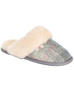 Bedroom Athletics Kate Harris Tweed Mule Slippers