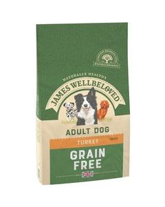 James Wellbeloved Adult Dog Grain Free Turkey & Vegetables - 10kg