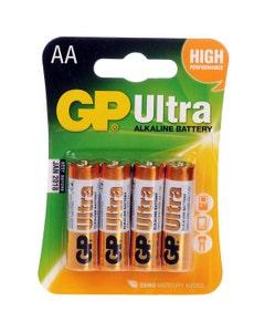 GP Ultra AA Alkaline Batteries - 4 Pack