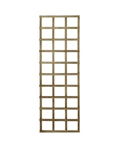 Forest Garden Pressure Treated Traditional Trellis – 180 x 60cm
