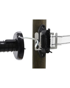 Mole Electric Fencing Tape Gate Insulators - Pack of 2