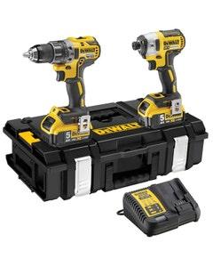 DeWalt DCK266P2T 18V Drill/Impact Driver Twin Pack