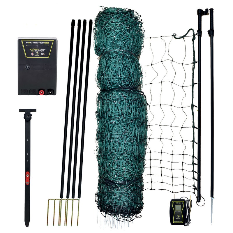 An image of Mole Electric Fencing Ultimate Poultry Kit