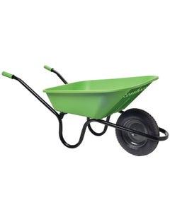 Haemmerlin Vibrante Go Lime Green Wheelbarrow - 90L