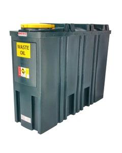 Deso Bunded Slim Line Waste Oil Tank 1400L - SL1400WOW