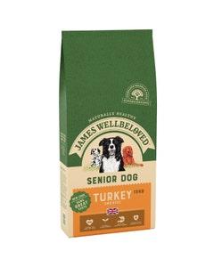 James Wellbeloved Senior Dog Turkey & Rice - 15kg