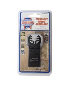 Faithfull Multi-Functional Tool CRV Flush Cut Wood Blade - 34mm