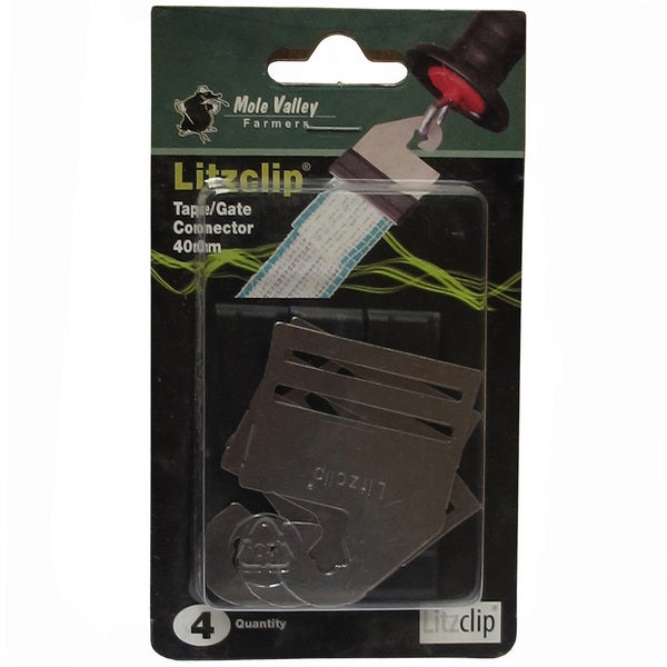 An image of MVF Litzclip® Gate Handle Connector For Tape 40mm - Pack of 4