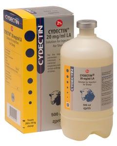 Cydectin 2% LA Sheep Injection - 500ml