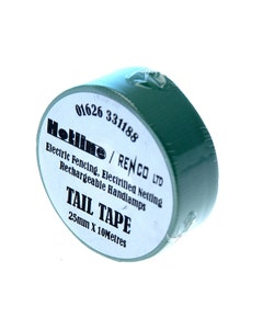 Hotline Coloured Tail Tape - Green