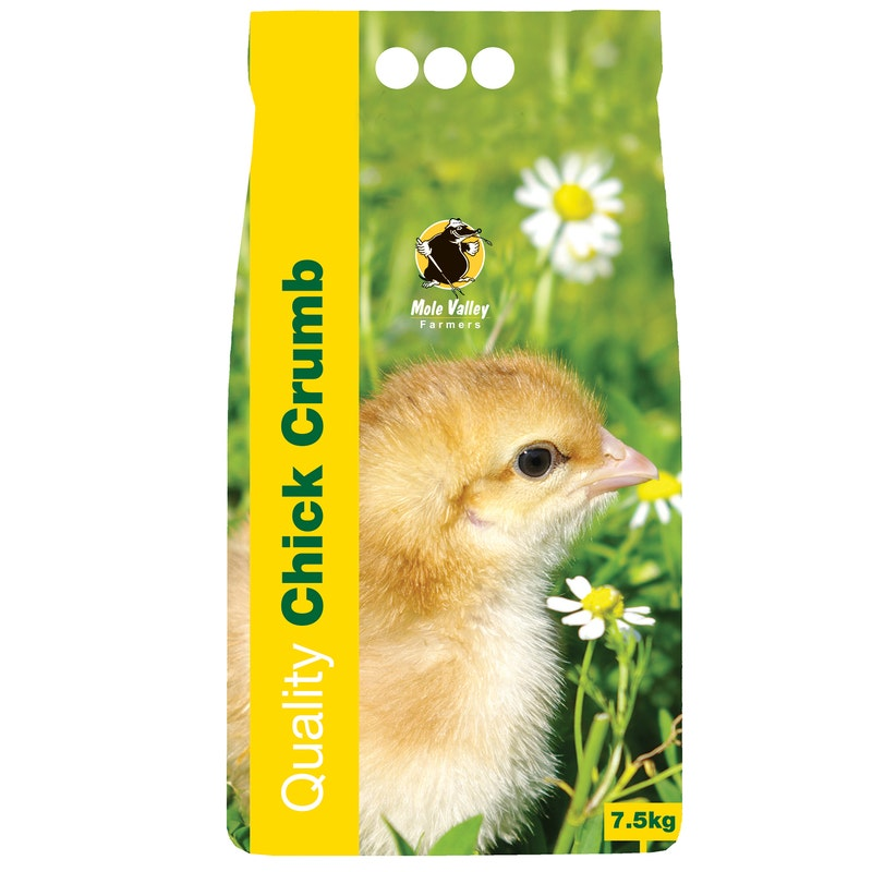 An image of MVF Chick Crumbs - 7.5kg