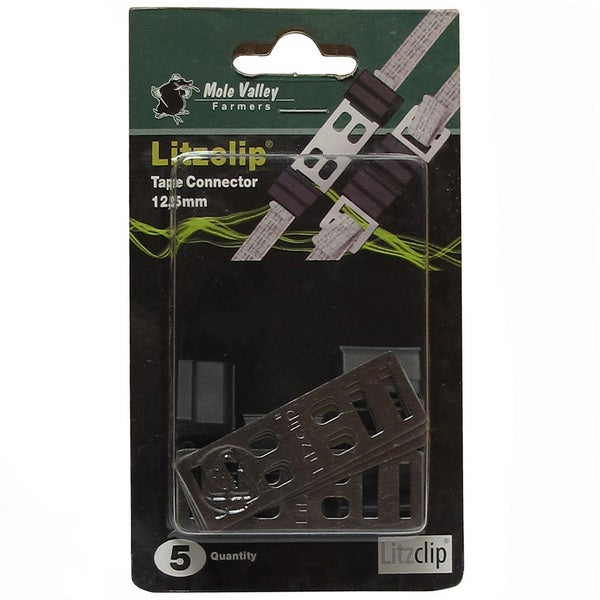 An image of MVF Litzclip® Tape Connector 12.5mm - Pack of 5