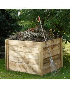 Forest Garden Slot Down Compost Bin - Unassembled