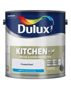 Dulux Kitchen+ Matt Frosted Steel - 2.5L