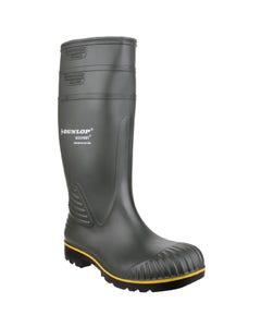 Dunlop Adults Acifort Heavy Duty Non Safety Wellington Boots - Green