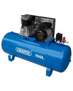 Draper Expert 150L Stationary Belt Driven Air Compressor - 2.2KW