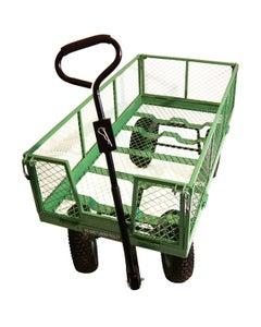 Large Steel Garden Trolley