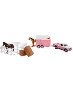 Kidsglobe Horsetrailer & Accessories