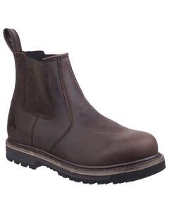 Amblers Mens Carlisle Dealer Boots - Brown
