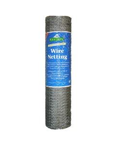 Kestrel Galvanised Wire Netting – 900mm x 25mm x 10m