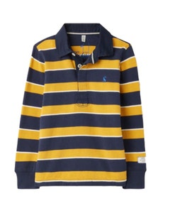 Joules Children's Onside Striped Rugby Shirt
