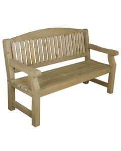 Forest Garden Harvington Bench 5' - Unassembled