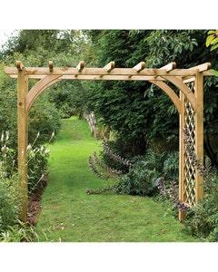 Forest Garden Ultima Pergola Arch Large - Unassembled