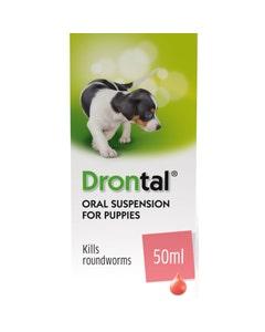 Drontal Puppy Oral Suspension 50ml