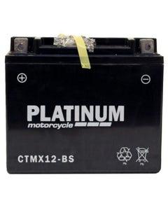 Platinum CTMX12.BS Motorcycle/Quad Battery 10Ah