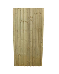 Flat Top Feather Edge Gate - 1.8m x 900mm