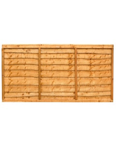 Forest Garden Trade Lap Fence Panel 1.83m x 0.91m (6' x 3') - Pack of 4