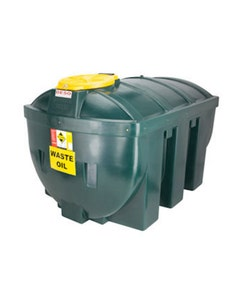 Deso Bunded Horizontal Waste Oil Tank 1235L - H1235WOW
