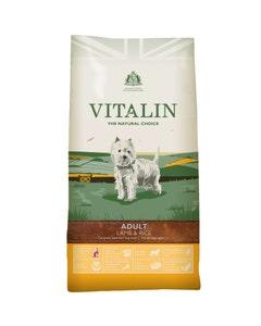 Vitalin Adult Dog Lamb and Rice - 12kg